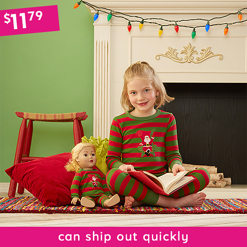 Matching Girl & Doll Pajama Sets (various)