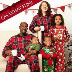 Family Christmas Pajamas Canada.Family Christmas Photo Pajama Party Zulily