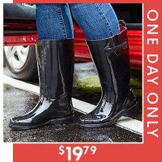 200dd216f247 Wide-Calf Rain Boots