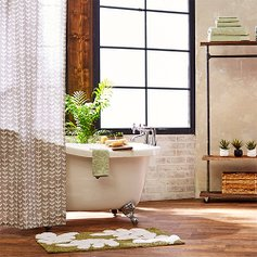 Sophisticated Bathroom Furnishings zulily