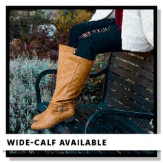 33afbc1f9bf The Wide-Calf Boot Collection. love this brand