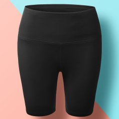 4d58321c97 Tummy-Control Yoga Shorts for $11.99 | Zulily
