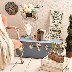 Vintage-Inspired Décor | Zulily