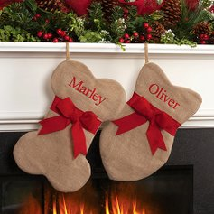 Custom Christmas Stockings Zulily