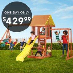 Kidkraft Cedarbrook Wooden Playset Zulily