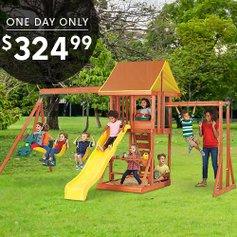 Kidkraft Cedarbrook Wood Playset Zulily