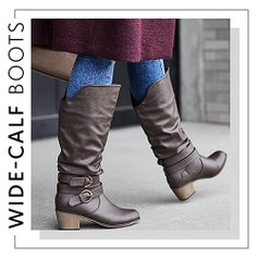 386c8b69684f Wondrous Wide-Calf Boots