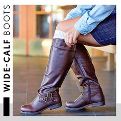 7e1517b60642 Wondrous Wide-Calf Boots. love this brand