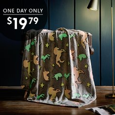 Glow-in-the-Dark Throws