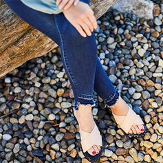 ee37adc02714 Feeling These Flat Sandals. love this brand