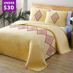 Dreamy Deals on 3-Piece Quilt Sets