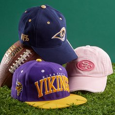 1979077eec3 Game-Day Toppers  NFL Hats