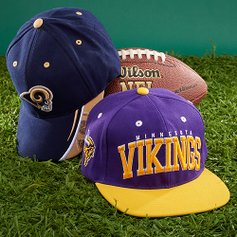 802cad34067 Game-Day Toppers  NFL Hats. love this brand