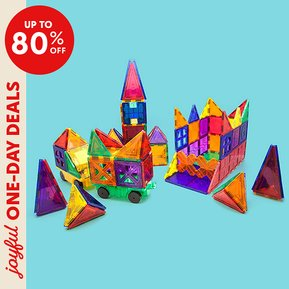 joyful one day deals, up to 80% off