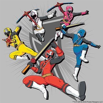 Power Rangers Zulily