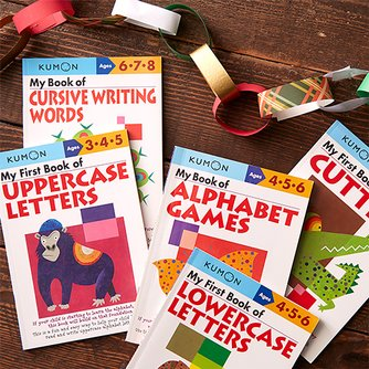 my first book of uppercase letters kumon workbooks