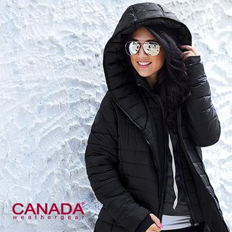 57a1d0530 Canada Weather Gear - Faux Fur Hooded Puffer Coats | Zulily