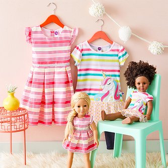 8c1aac05ae Dollie & Me - Matching Outfits for Girls & Their Dolls | Zulily