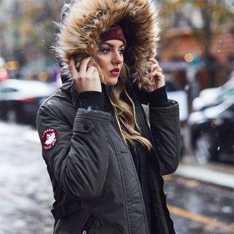 1540ec6fa Canada Weather Gear - Faux Fur Hooded Puffer Coats | Zulily