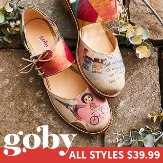 Graphic WomenZulily Design Goby Shoes Unique For K1lFJc