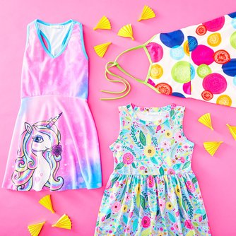 236870972bd0 Sunshine Swing - Bold Tops & Leggings For Kids Up to 70% Off | Zulily