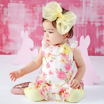 23f2e3393 Nannette Baby - Ruffled Dresses & Tops for Baby | Zulily