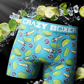 Crazy Boxers Shark Week All Over Print Boxer Briefs Adult