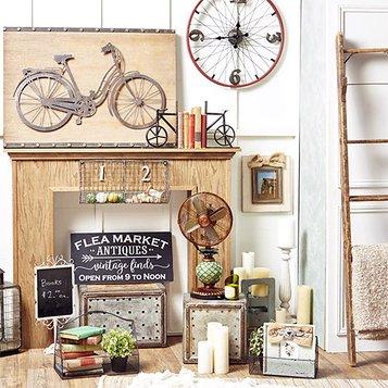 Home Décor. A Flea Market Inspired Home