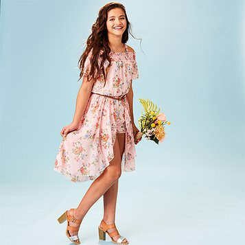 4180ab9fb91 Easter   Spring Outfits for Girls. Floral Flair  Up to Tween