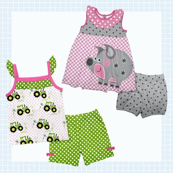 NEW Newborn baby headband and booties set spring green white polka dot flowers