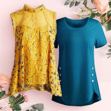 Women s Plus Size Clothing - Tops 9cbac9402