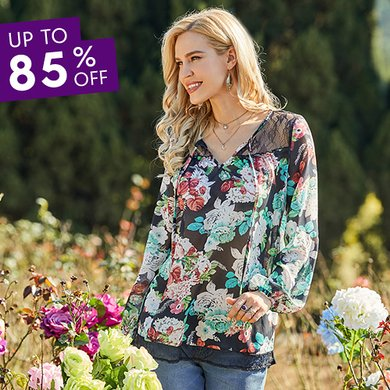 8540b46c784 Women s Plus Size Clothing - Tops