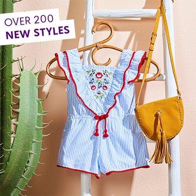 3b1a3b7a71e5b4 Shop Girls Clothing - Size 7 to 12