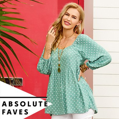 34f135211 Women s Plus Size Clothing - Tops