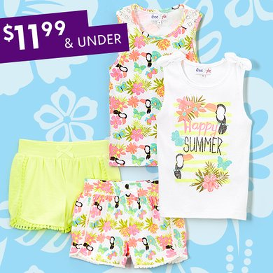 ce4c5b3b02 Stock Up On Summer Styles. sizes baby to big girls