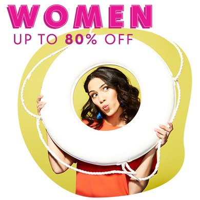 87d05e758db Blow-Out Bonanza  Women. up to 80% off