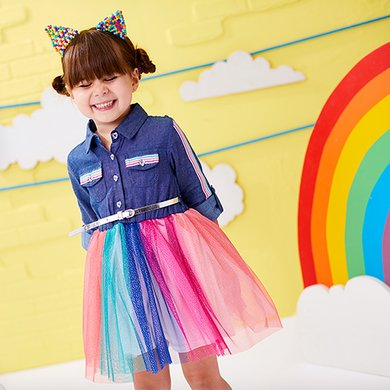 767ea1a527f55 Shop Girls Clothing - Size 7 to 12 | Zulily