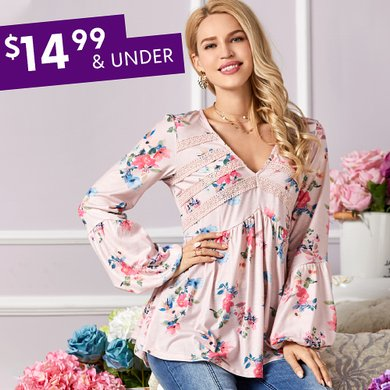 6f148957993 Women s Plus Size Clothing - Tops