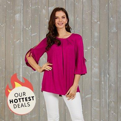 c59ea3b726 Women's Plus Size Clothing - Tops, Dresses & More | Zulily