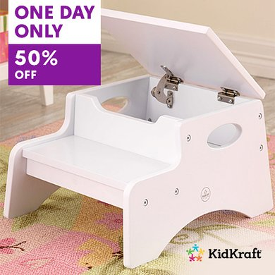 one day only, 50% off