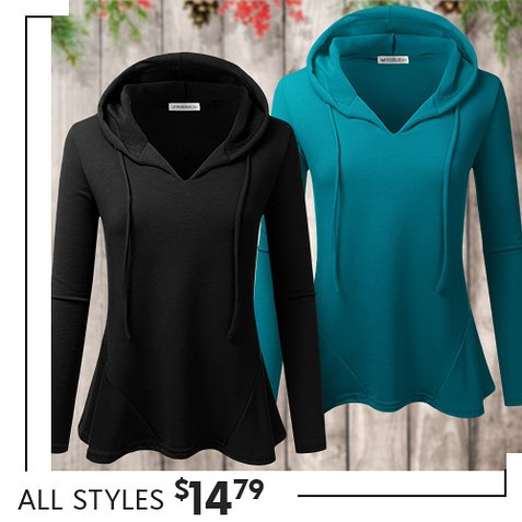 f918617cc Pick Up Our Fave Peplum Hoodie  S-3X