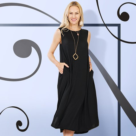 ca852f247 Make Way for Midi Dresses: S-3X