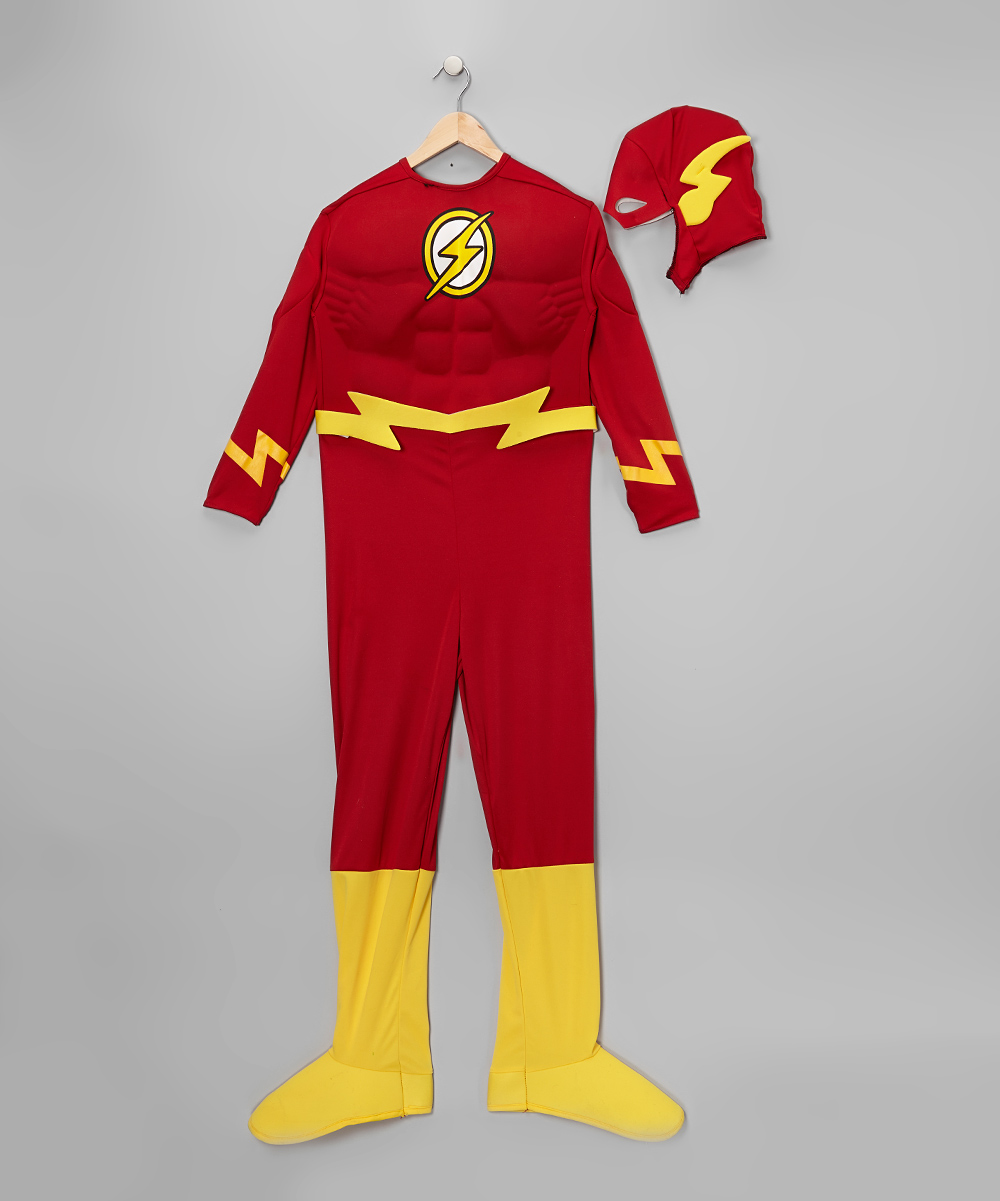 Rubies The Flash Red Gold Deluxe Dress Up Set Boys Zulily