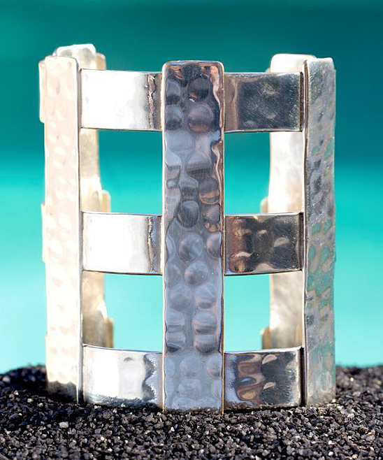 Love This Product Silver Parallel Cuff