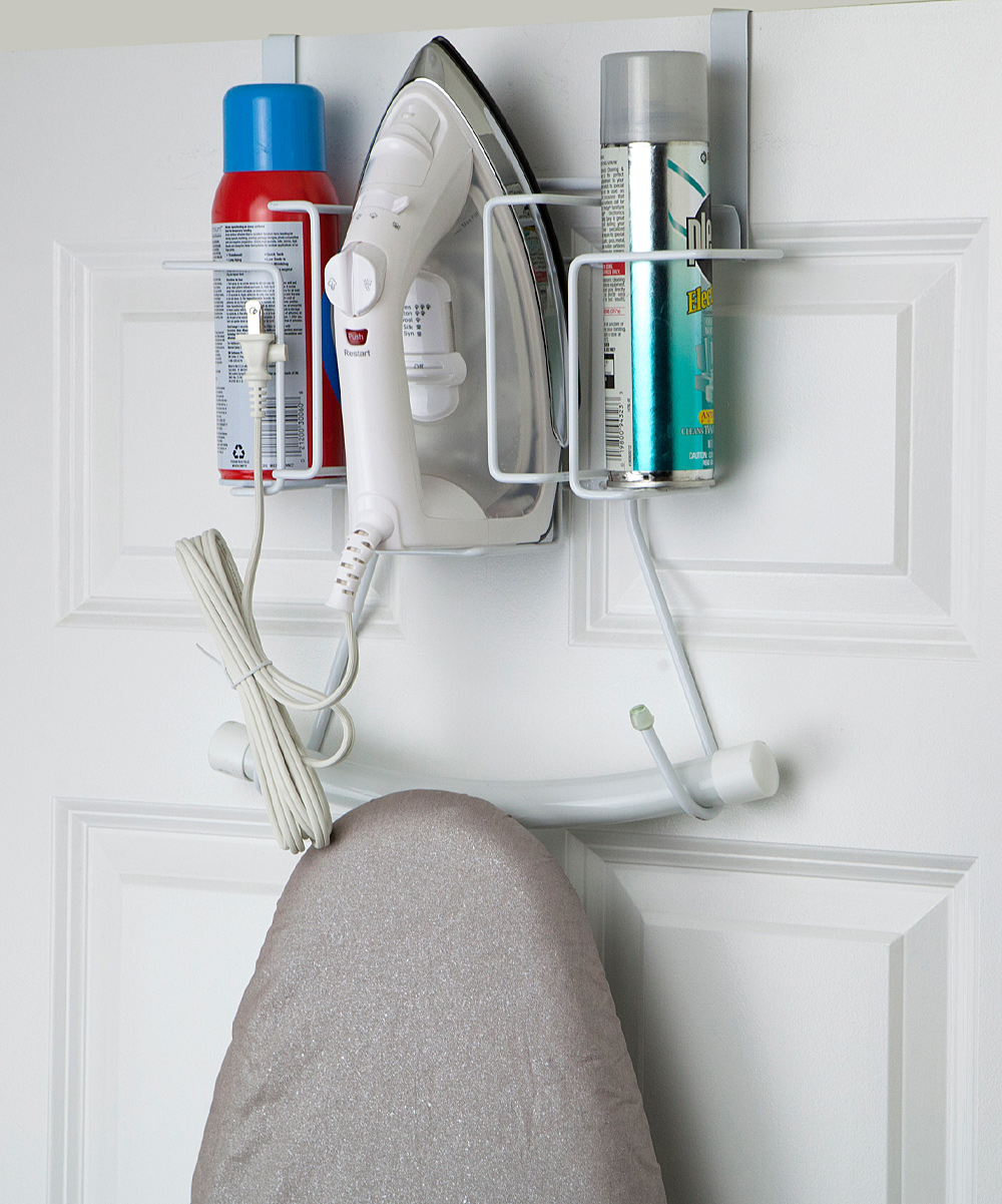 Home Basics Over The Door Ironing Board Caddy Zulily