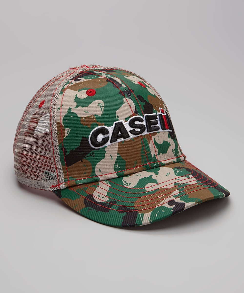 41a351e1 love this product Case IH Green Camo Trucker Hat