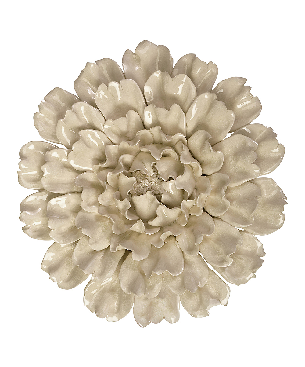 Isabella Large Ceramic Flower Wall Art