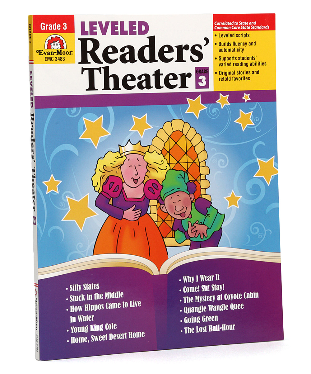 Evan-Moor Educational Publishers 3rd Grade Leveled Readers' Theater  Paperback