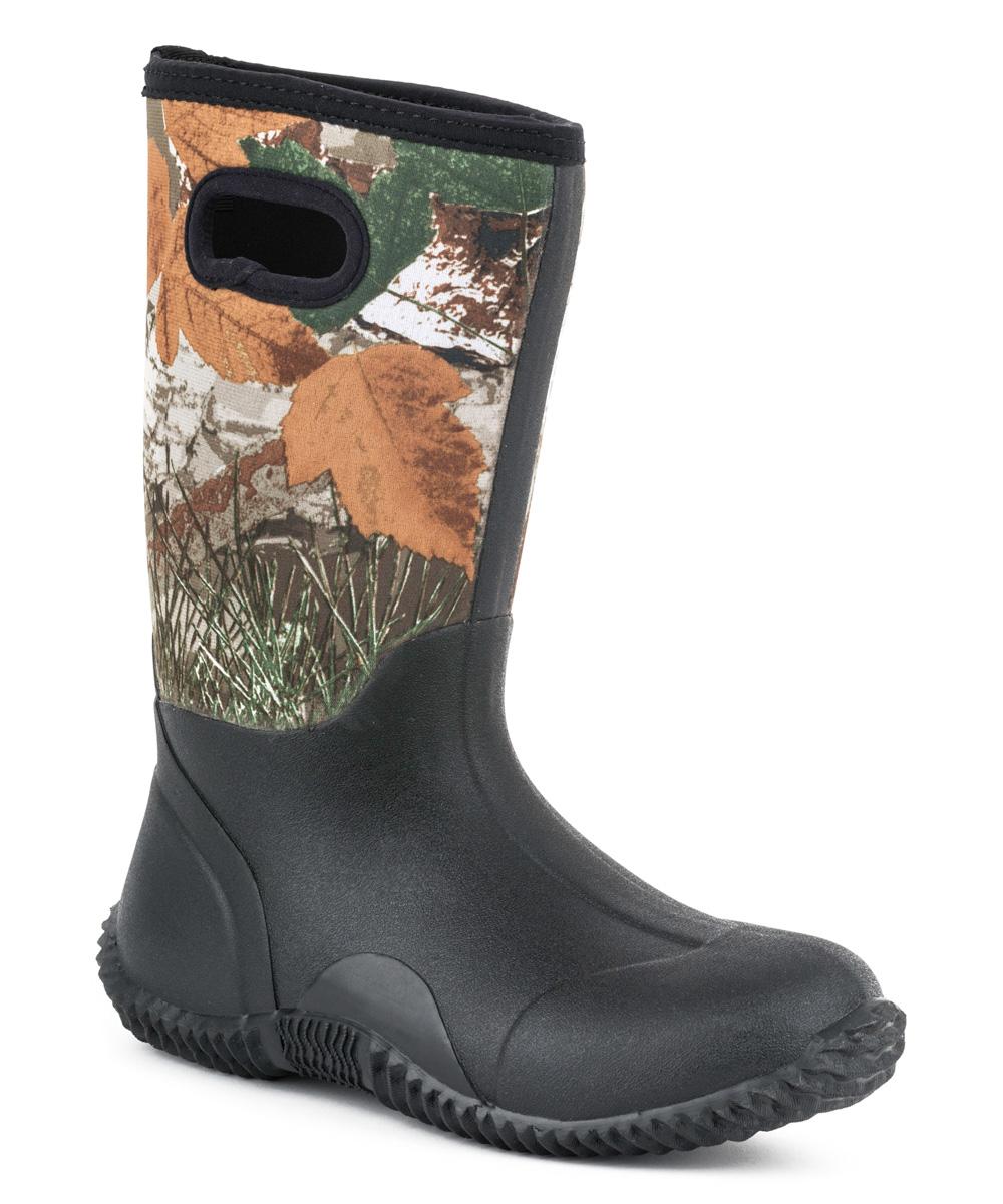 5334d575f66 Roper Camo & Black Barn Waterproof Boot - Kids