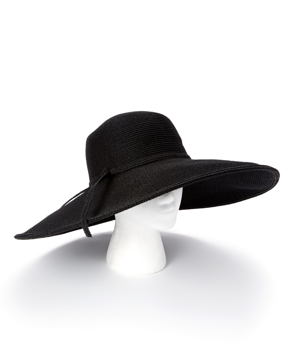 54f512fc52e love this product Black Wide-Brim UPF 50+ Sunhat